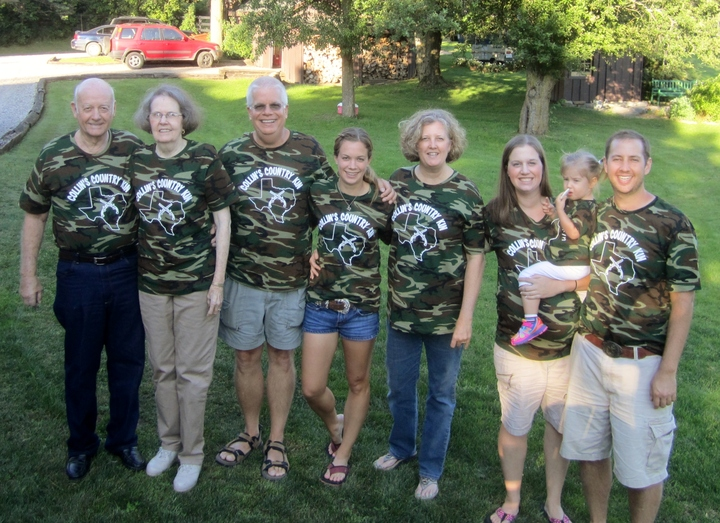 Collin's Country Kin   Rehearsal Dinner Family Photo T-Shirt Photo