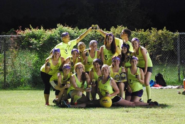 Women's Kickball365 Summer League T-Shirt Photo