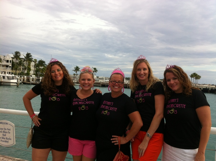 Bethany's Bachelorette Party T-Shirt Photo