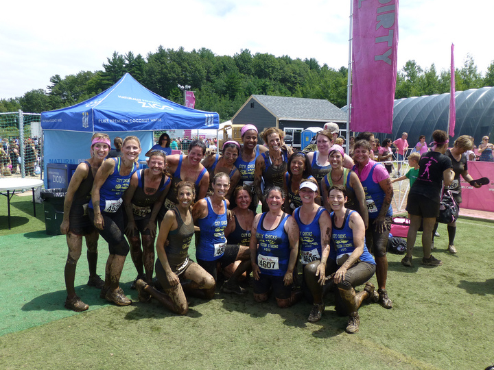 The 'after' Mud Run Photo T-Shirt Photo