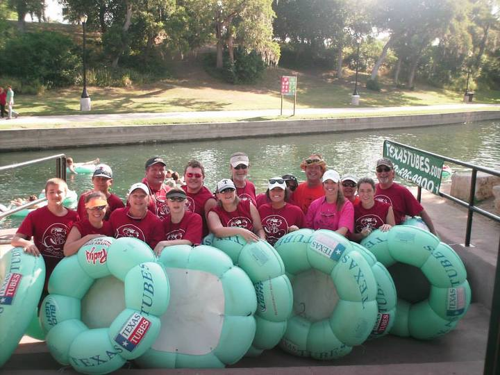 Tubing The Comal T-Shirt Photo
