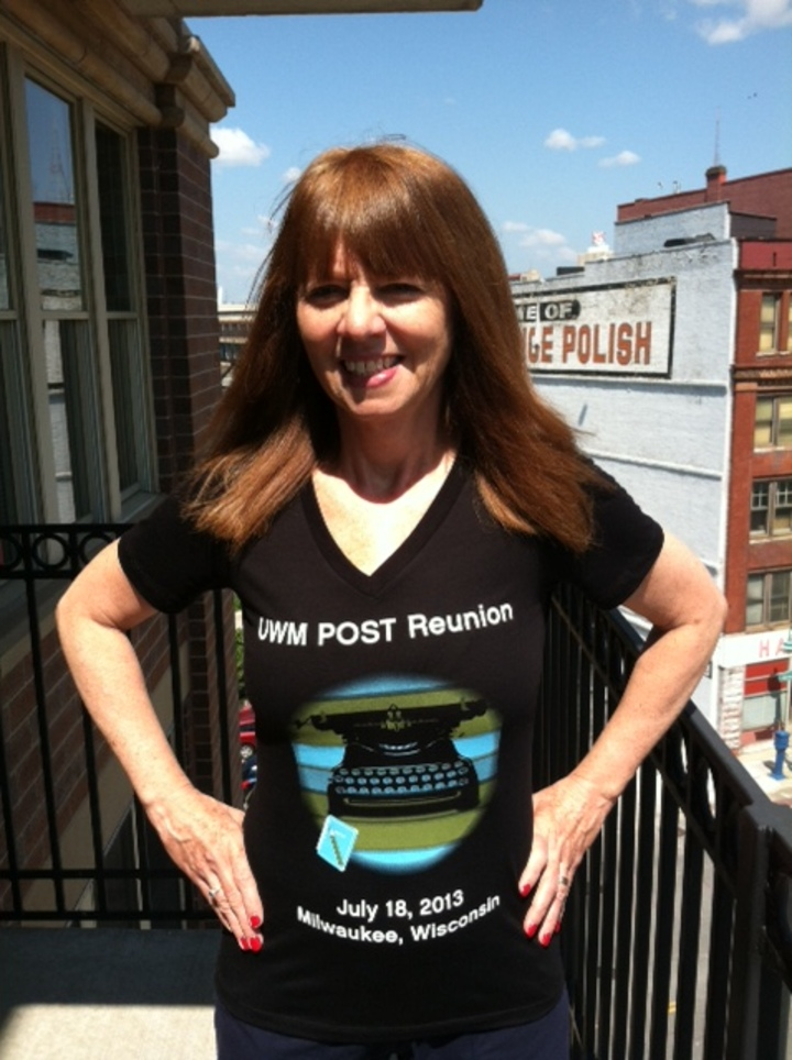 Getting Ready For The Uwm Post Reunion T-Shirt Photo