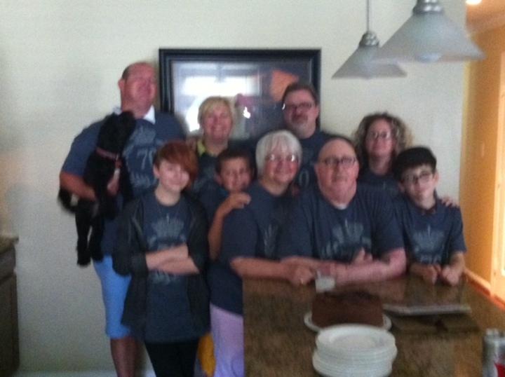 Family   Pops Rocks B Day  T-Shirt Photo