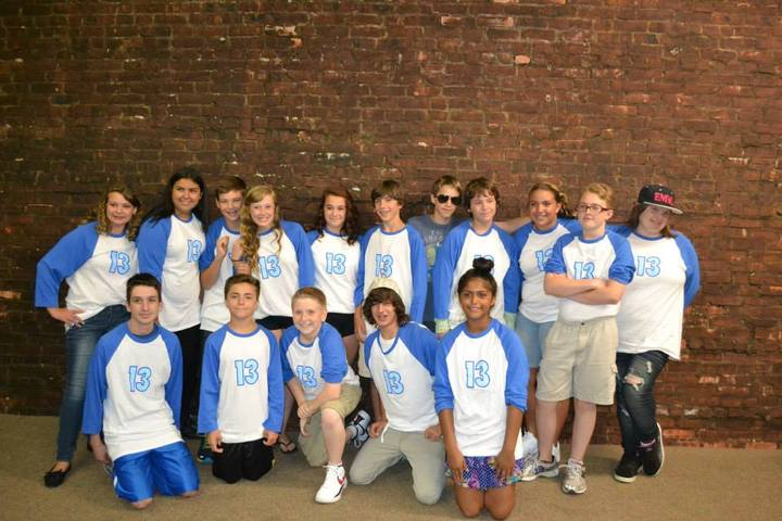 South Shore Theatre Experience's Cast Of 13 The Musical T-Shirt Photo