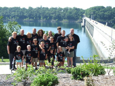 Bull Shoals Dam, Ar Best Dam Reunion! T-Shirt Photo