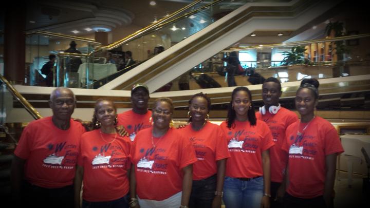 Wattley Family Cruise 2013 T-Shirt Photo