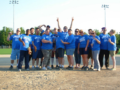 Greatest Amature Softball Team Ever T-Shirt Photo