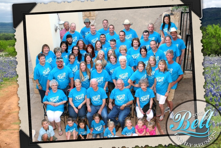 Belt Family Reunion T-Shirt Photo