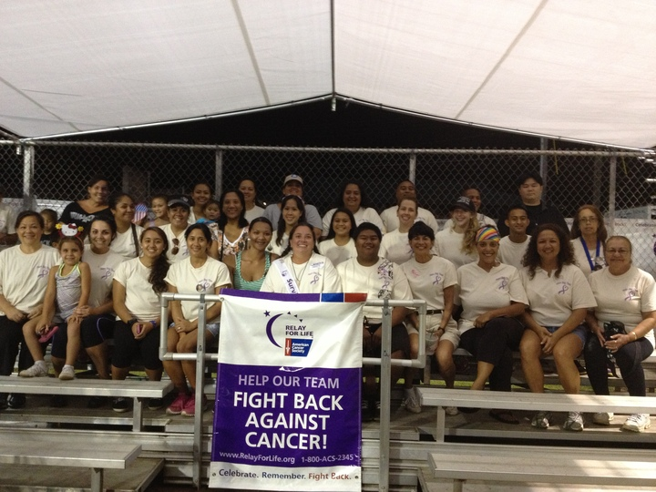Team Bay Clinic Relay For Life 2013 T-Shirt Photo