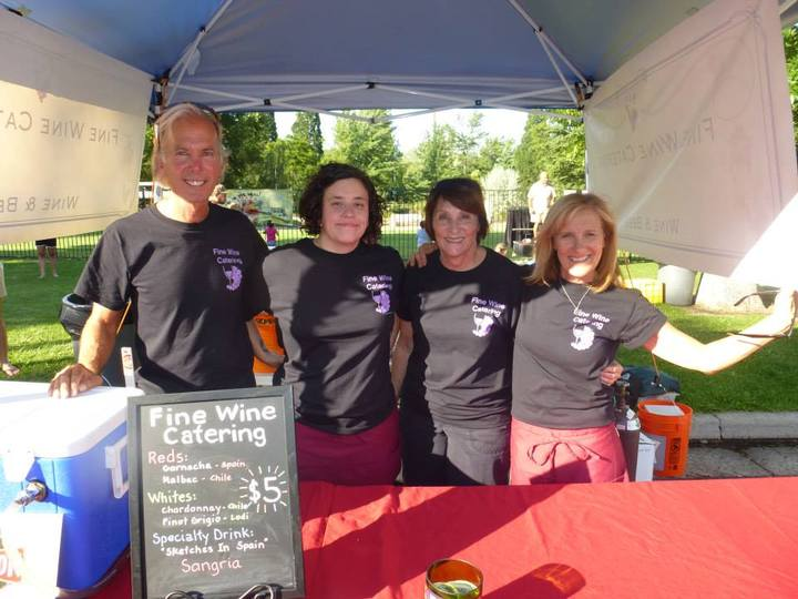 Fine Wine Catering At Reno Street Food Event T-Shirt Photo