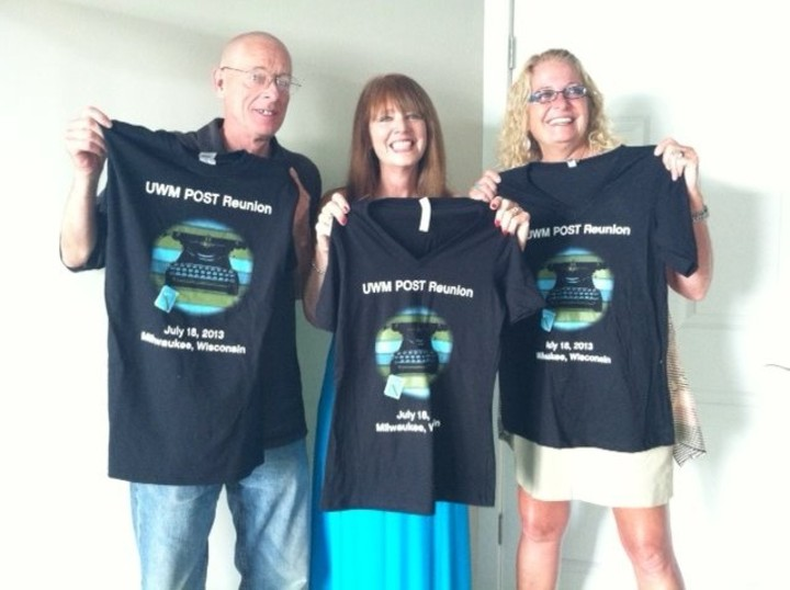 Uwm Post Reunion   T Shirts Out Of The Box! T-Shirt Photo
