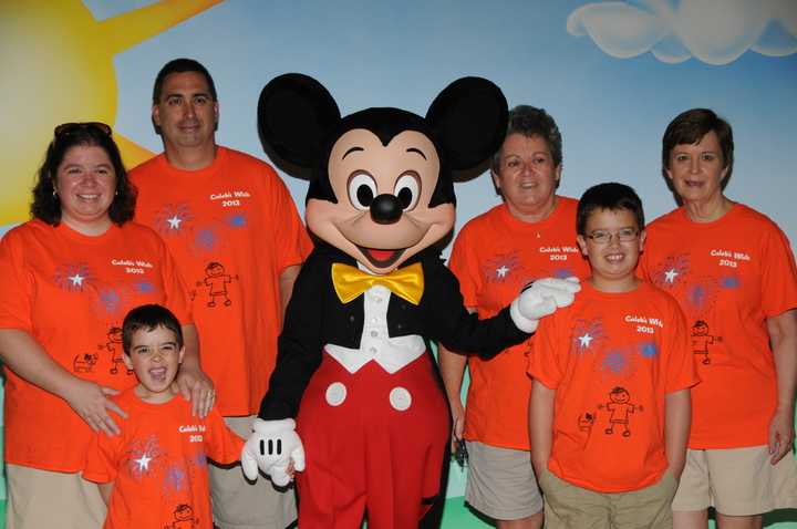 Caleb's Wish Trip To Disney T-Shirt Photo