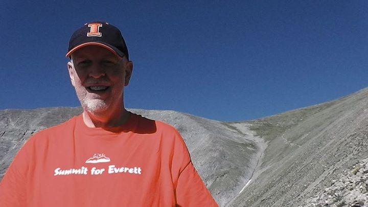 Grandpa Climbs For Everett T-Shirt Photo