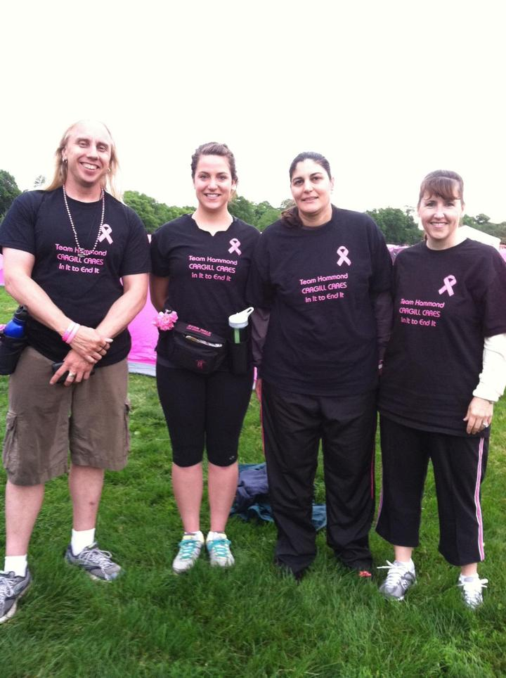 Avon Breast Cancer Walk Team Cargill T-Shirt Photo