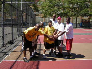 Streetball Game T-Shirt Photo