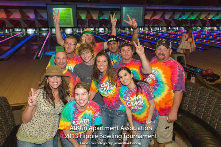 Hippie Bowling Tournament T-Shirt Photo