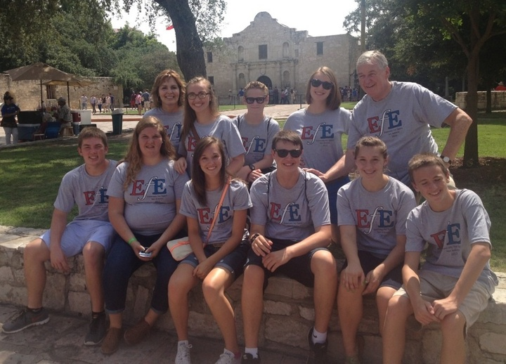Especially For Egans Reunion At The Alamo T-Shirt Photo