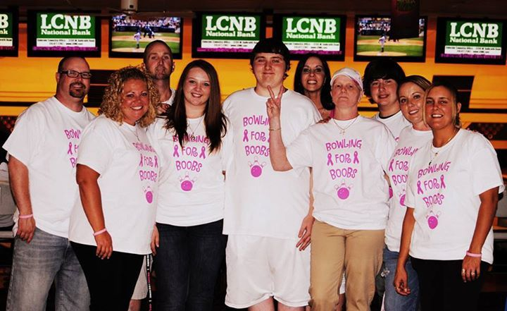 Bowling For Boobs For The Cause! T-Shirt Photo