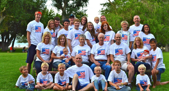 Faith Family Freedom T-Shirt Photo