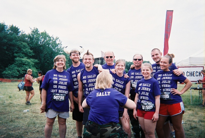 Warrior Dash 2013 T-Shirt Photo