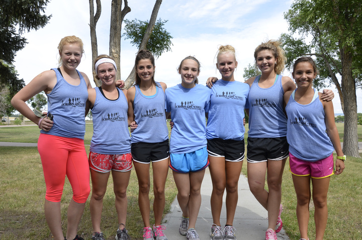 Sidney Cross Country Team Camp T-Shirt Photo