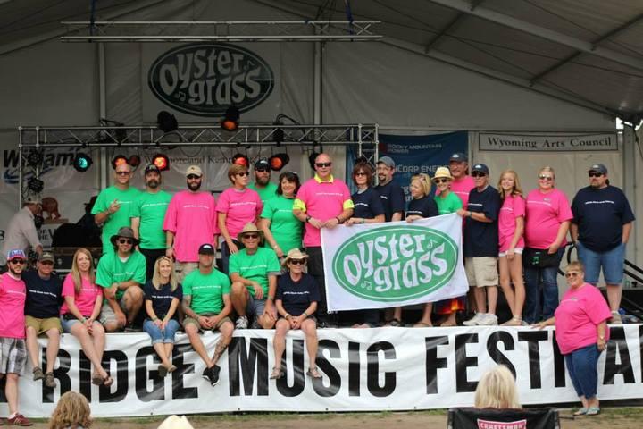Oyster Ridge Music Festival 2013 T-Shirt Photo