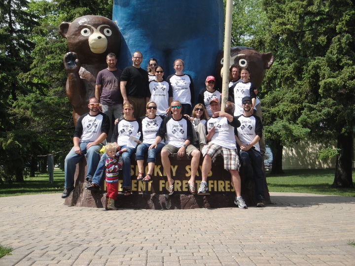 Scavenger Hunt @ Smokey Bear Park T-Shirt Photo