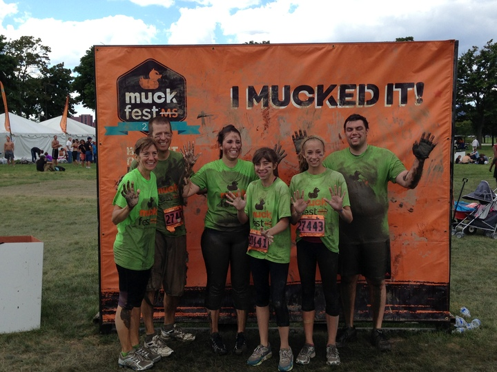 Muckfest Ms Detroit 2013  T-Shirt Photo