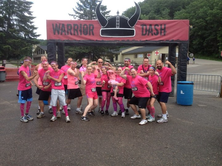 Team Sparkle   Warrior Dash For Josie T-Shirt Photo