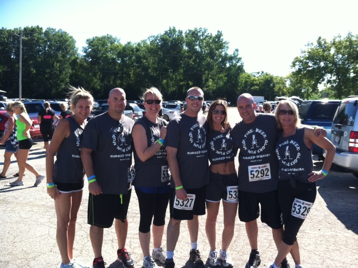 Rugged Maniac Before Photo T-Shirt Photo