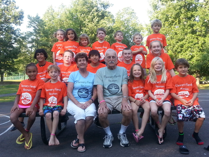 Flannery Clan T-Shirt Photo