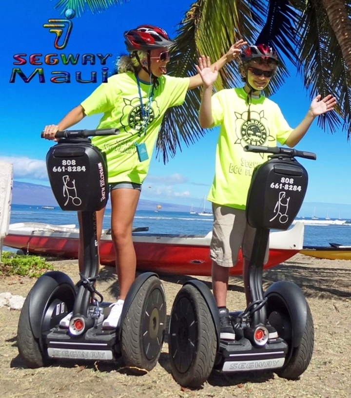Fun On Segway With Custom Ink Shirts T-Shirt Photo