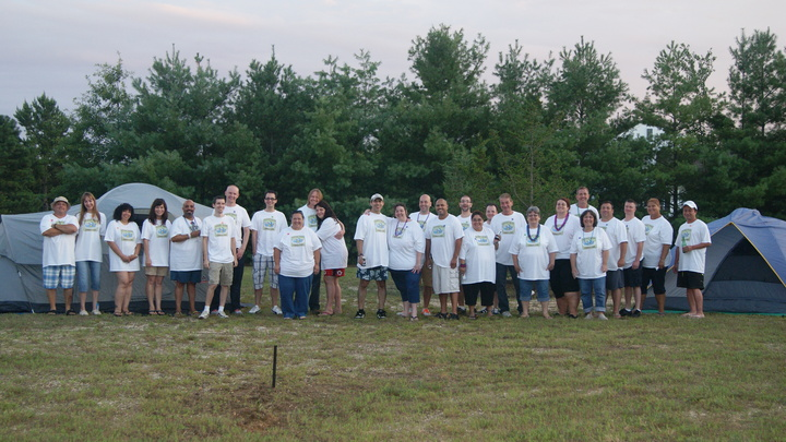 Our (Fake) Camp Counselors! T-Shirt Photo