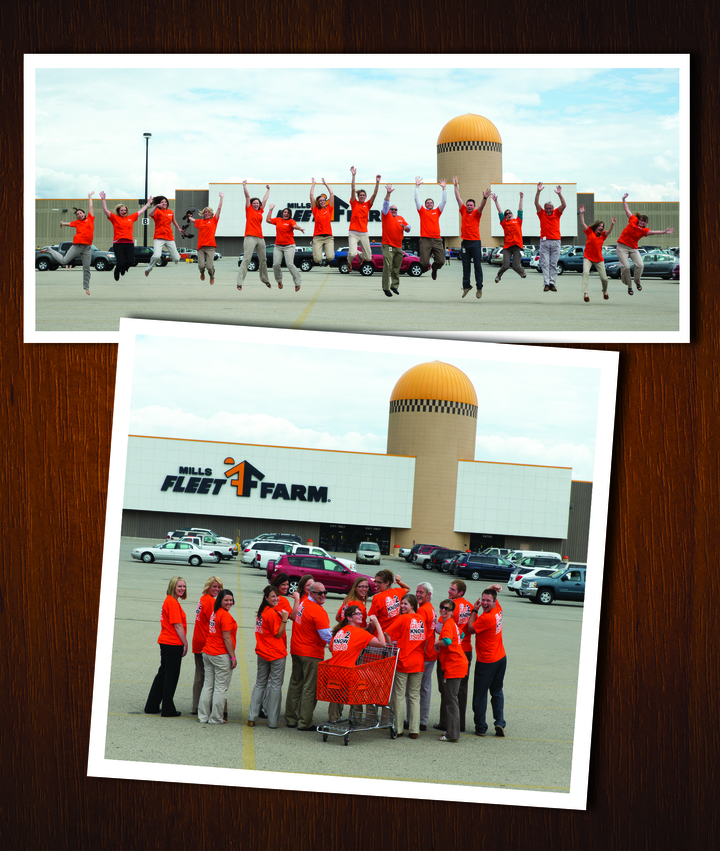 We Love Mills Fleet Farm! T-Shirt Photo