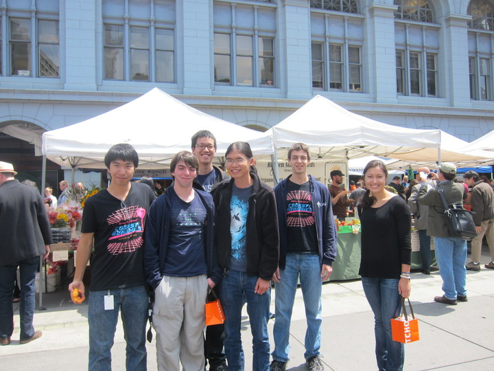 Counsyl Interns @ Sf Farmer's Market T-Shirt Photo