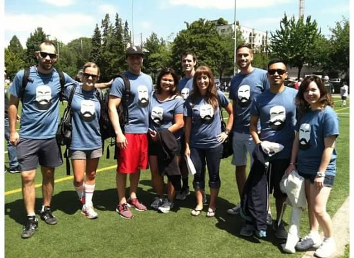 Kickball Team T-Shirt Photo