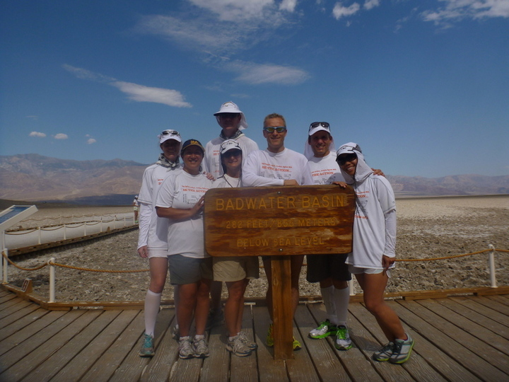Badwater 135 Pre Race Photo T-Shirt Photo