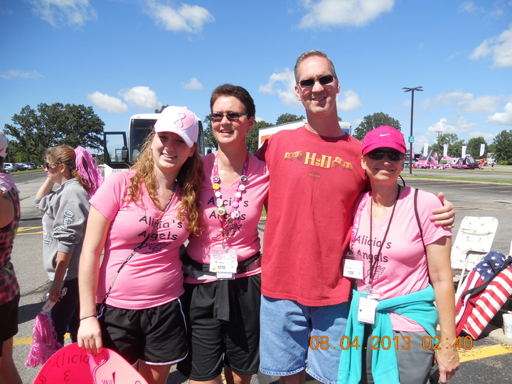 Rocking The Cleveland Susan G. Komen 3 Day! T-Shirt Photo