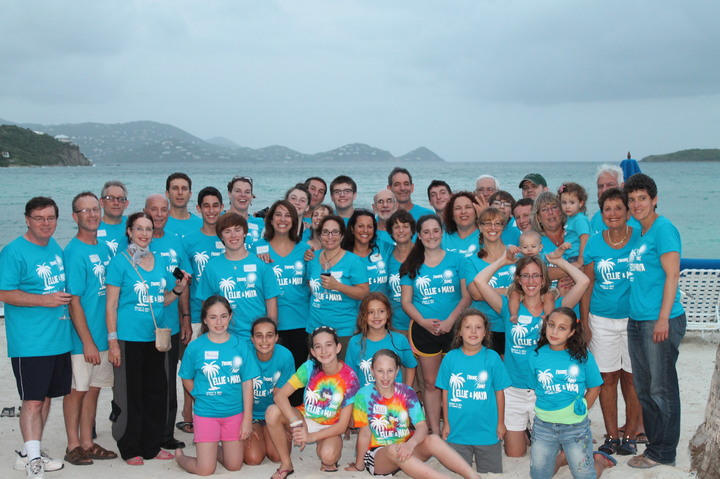 Ellie And Maya's B'not Mitzvah St Thomas Adventure T-Shirt Photo
