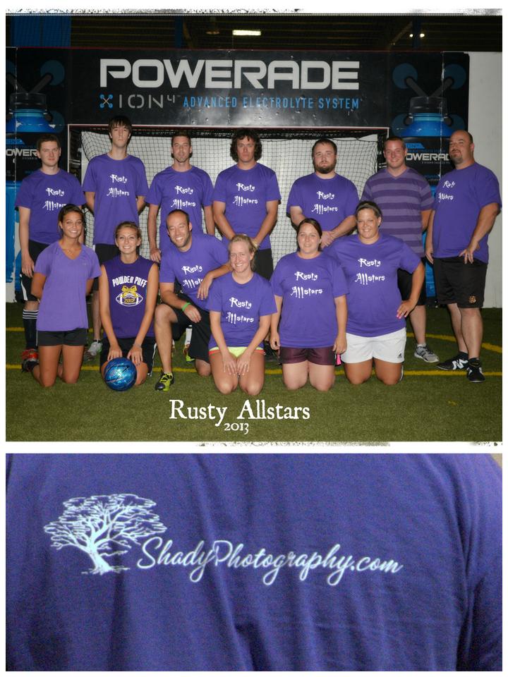 Rusty Allstars T-Shirt Photo
