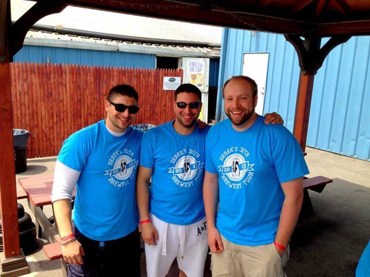 Family @ Derek's 30th Birthday Brewery Tour! T-Shirt Photo