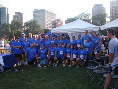 Smith Amundsen Team At The Front Of Chicago's Race Judicata T-Shirt Photo