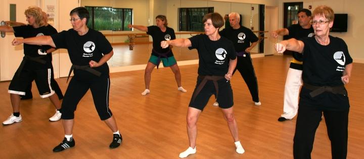Stone Creek Senior Karate Class T-Shirt Photo