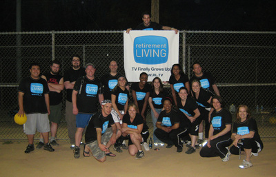 "Rltv Kickball ""Champs"" T-Shirt Photo"