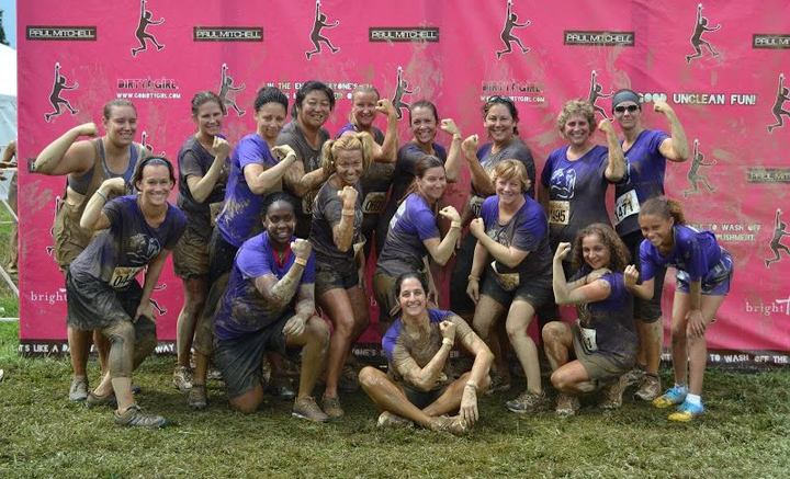 Mudslinging Mamas Take On The Dirty Girl T-Shirt Photo