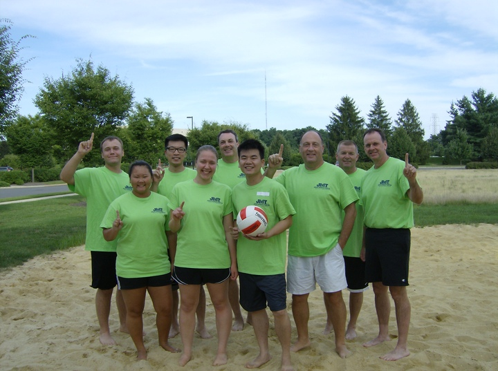 Jmt Volleyball Team T-Shirt Photo
