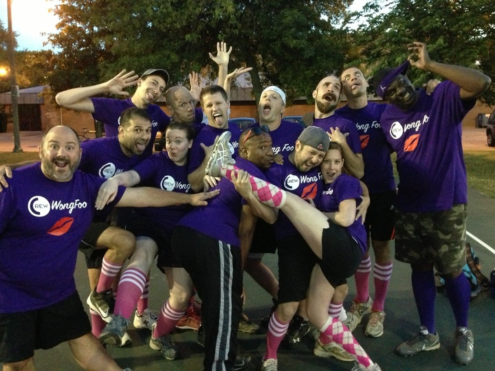 Crew Wong Foo  2013 Cmsa Fall Kickball T-Shirt Photo