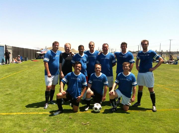 Vocera Soccer Team T-Shirt Photo
