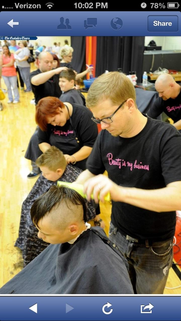 Good Hair Day Gadsden Al Charity Event T-Shirt Photo