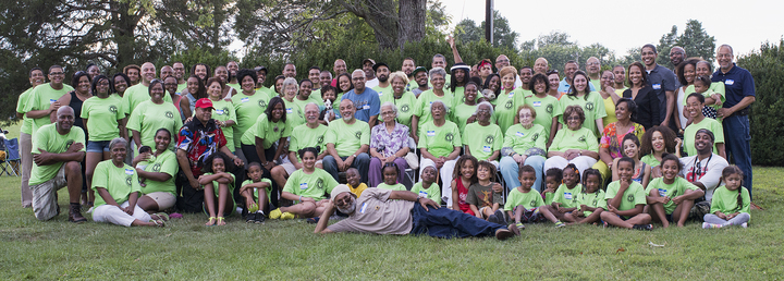 Tansimore Family Reunion Portrait 2013 T-Shirt Photo